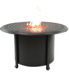 Sienna Round Firepit Coffee Table