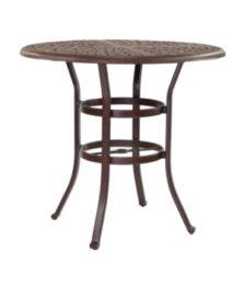 SIENNA ROUND BAR HEIGHT TABLE