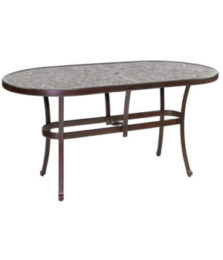 SIENNA OVAL DINING TABLE