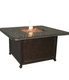 Sienna Square Firepit Coffee Table