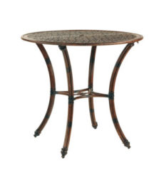 COCO ISLE ROUND BAR HEIGHT TABLE
