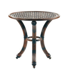 COCO ISLE ROUND OCCASIONAL TABLE