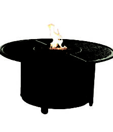 COCO ISLE ROUND FIREPIT COFFEE TABLE
