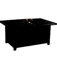 COCO ISLE RECTANGULAR FIREPIT COFFEE TABLE