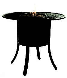 COCO ISLE ROUND FIREPIT BAR TABLE