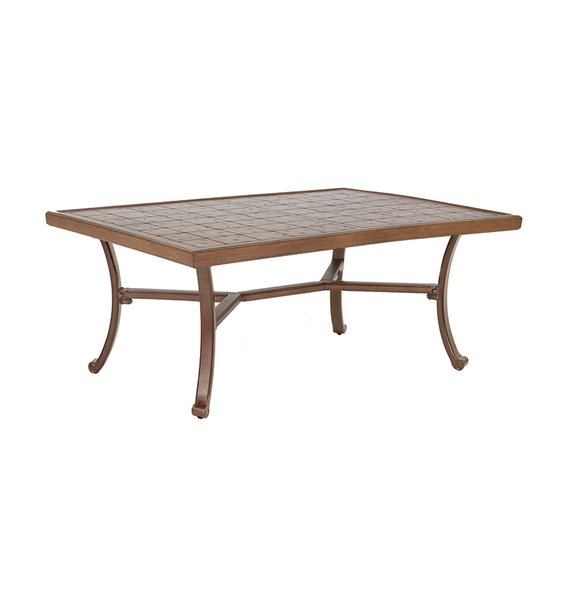 Vintage Small Rectangular Coffee Table Costa Rican Furniture