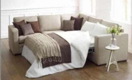Victory R Shape Sectional w-Full Size Sleeper
