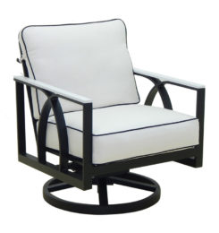 HERMOSA CUSHIONED LOUNGE SWIVEL ROCKER