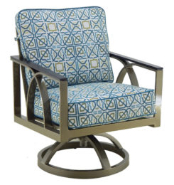 HERMOSA CUSHIONED SWIVEL ROCKER