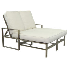 Park Place Double Cushioned Chaise Lounge