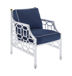 BARCLAY BUTERA CUSHIONED DINING CHAIR