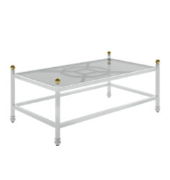 BARCLAY BUTERA RECTANGULAR COFFEE TABLE
