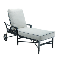 BILTMORE CUSHIONED CHAISE LOUNGE