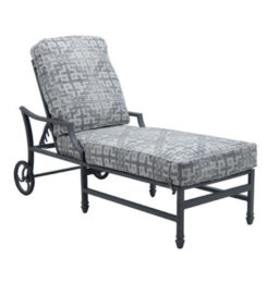 LANCASTER CUSHIONED CHAISE LOUNGE