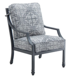 LANCASTER CUSHIONED DINING CHAIR