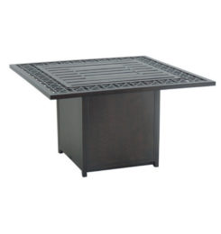 LANCASTER SQUARE FIREPIT COFFEE TABLE