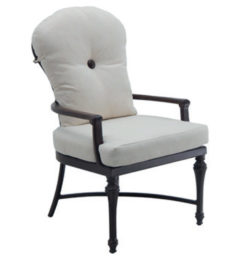 MADELEINE CUSHIONED FORMAL DINING CHAIR