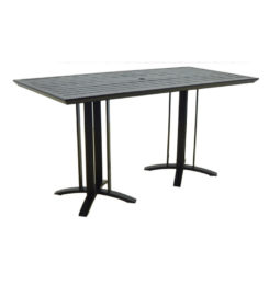MODERNA RECTANGULAR COUNTER TABLE