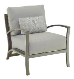 NAPOLI CUSHIONED LOUNGE CHAIR
