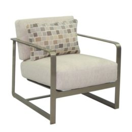 SOLSTICE CUSHIONED LOUNGE CHAIR