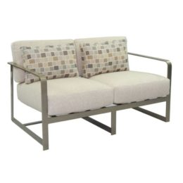 SOLSTICE CUSHIONED LOUNGE LOVESEAT
