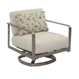 SOLSTICE CUSHIONED LOUNGE SWIVEL ROCKER