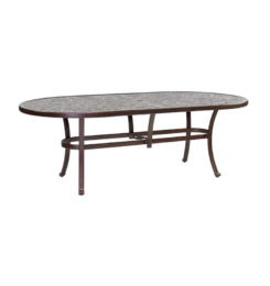 VINTAGE OVAL DINING TABLE