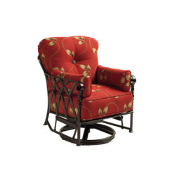 Veranda Cushioned Lounge Glider Swivel Rocker